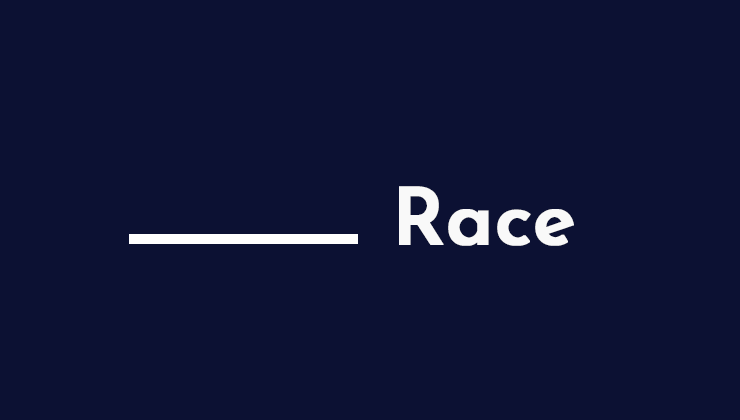 Image for _____ Race