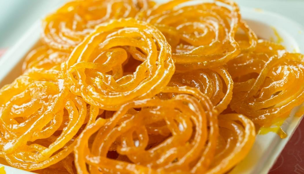 Image for How about the crispy Indian sweet, jalebi?