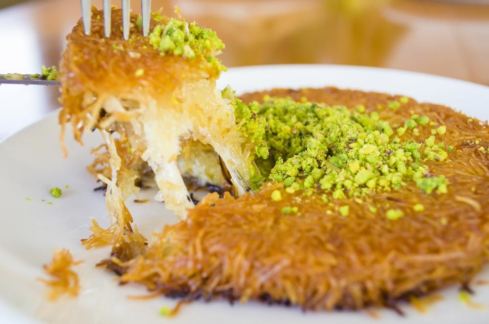 Image for Have you tried the traditional Middle Eastern dessert, kanafeh?