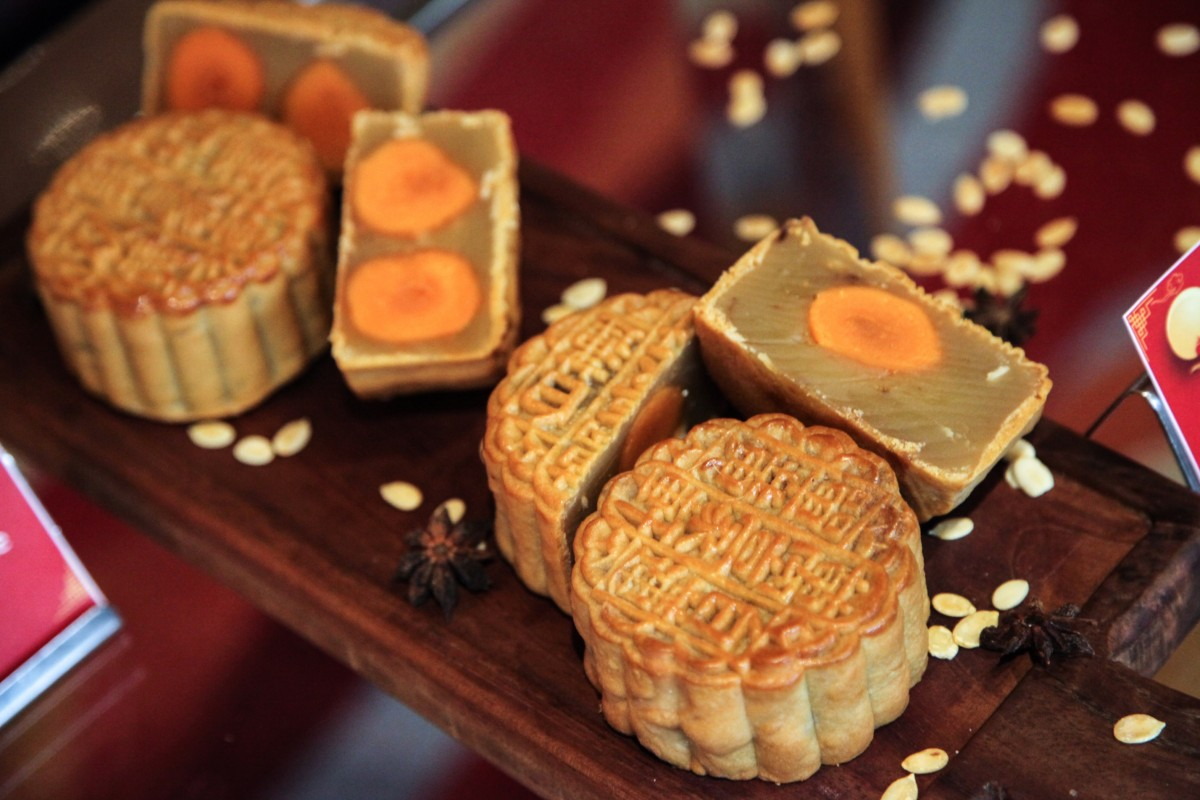 Image for Ever tried a Chinese mooncake?