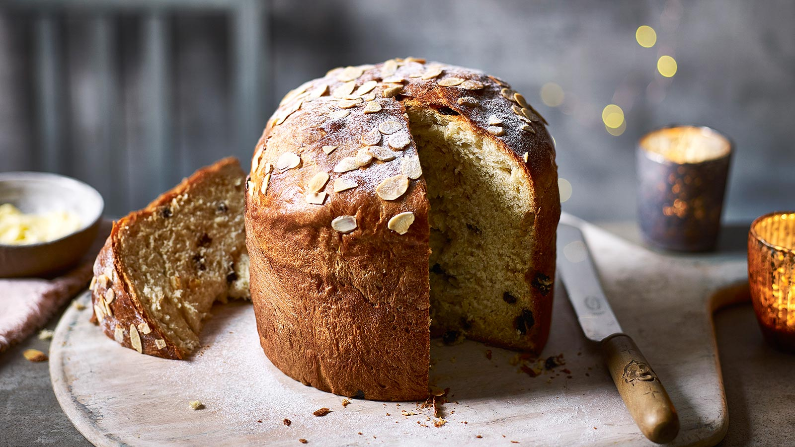 Image for What about the Italian Sweet bread panettone?