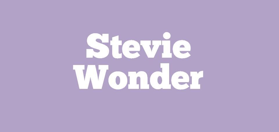 Image for Where is Stevie Wonder