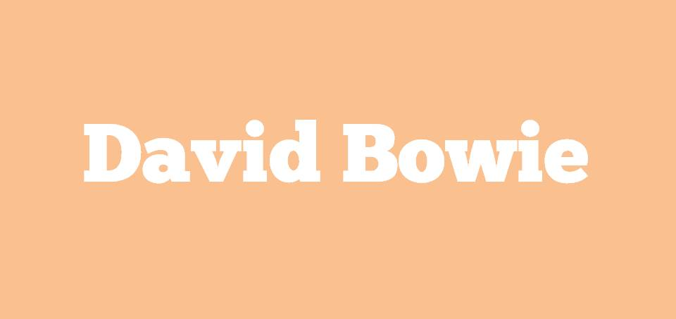 Image for Where David Bowie