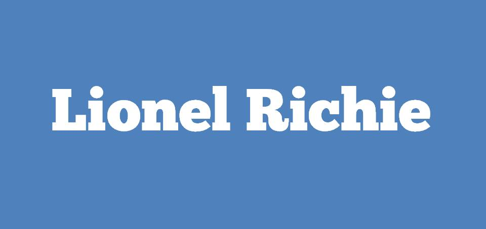 Image for Where is Lionel Richie?
