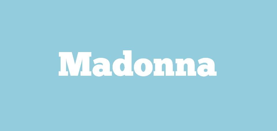 Image for Where is Madonna