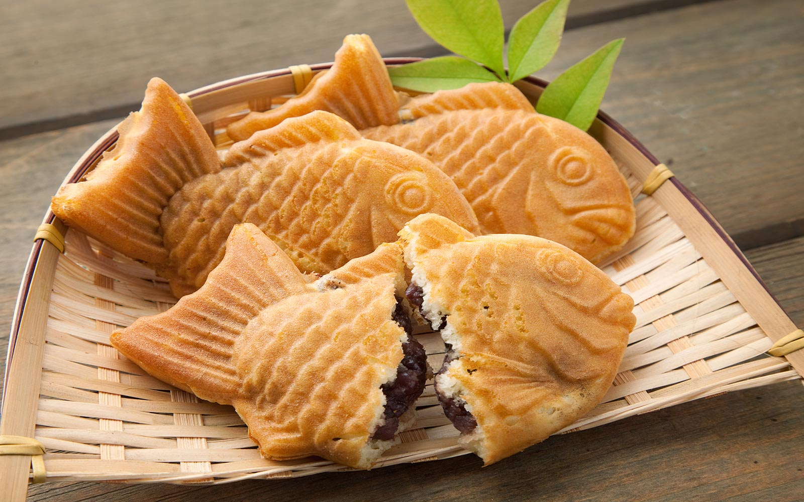 Image for What about the fish-shaped taiyaki from Japan?