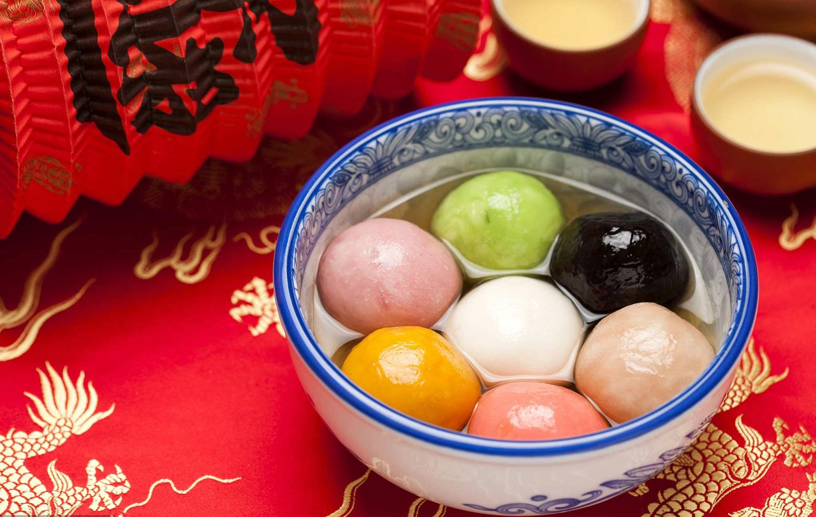 Image for Ever had the colorful Chinese glutinous rice balls, tan yuan?