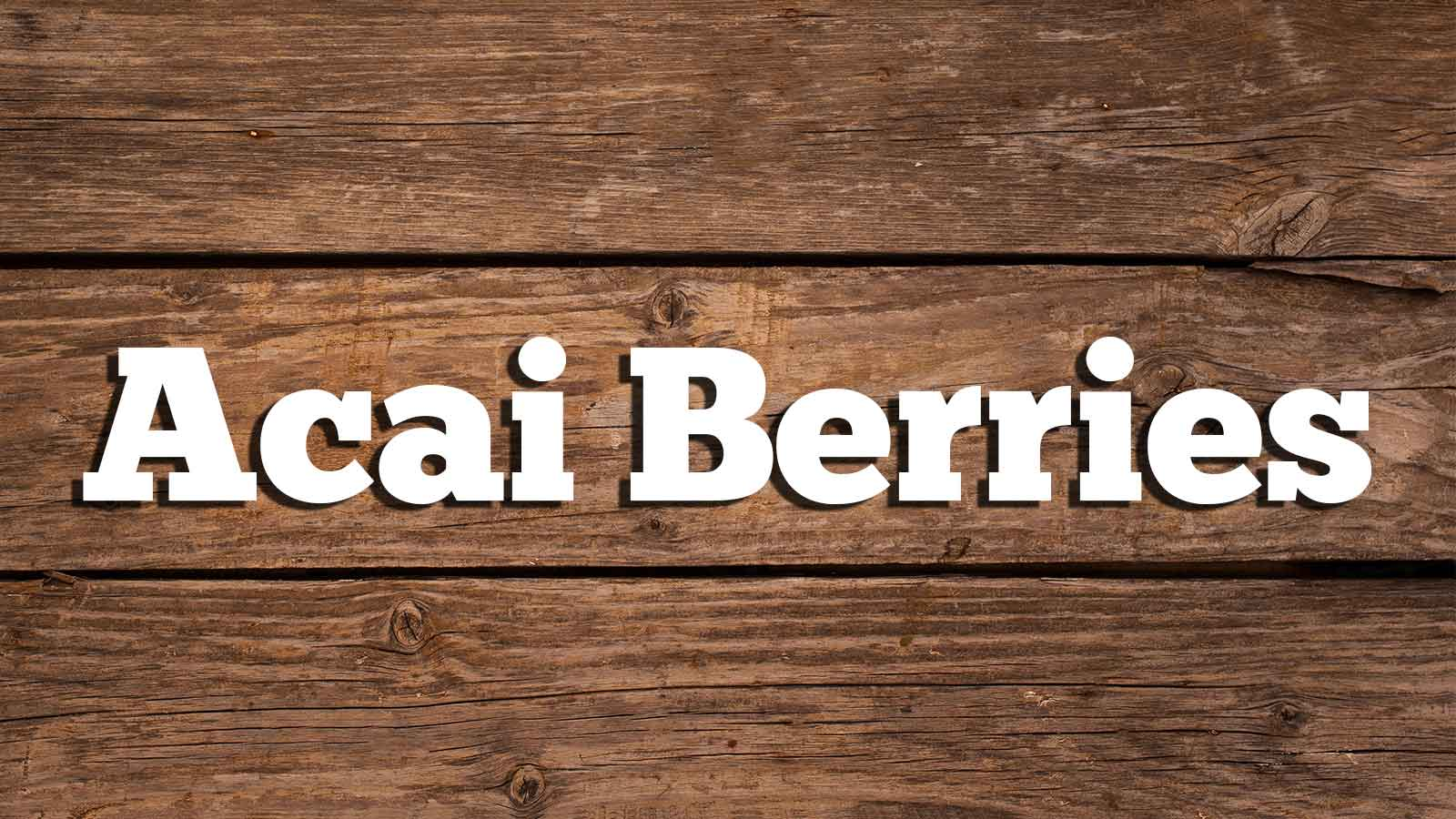 Image for Acai Berries