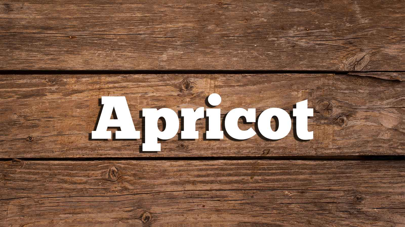 Image for Apricot