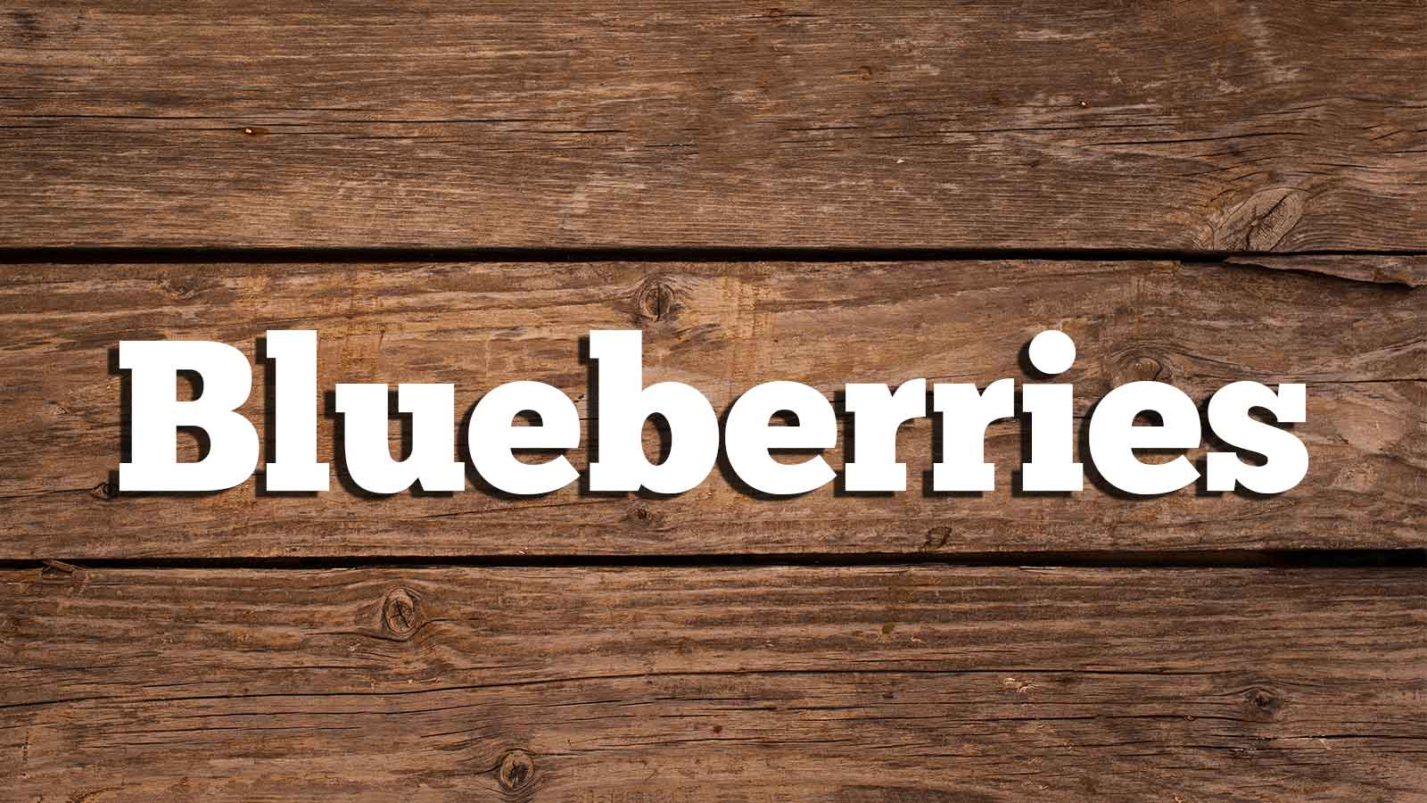 Image for Blueberries
