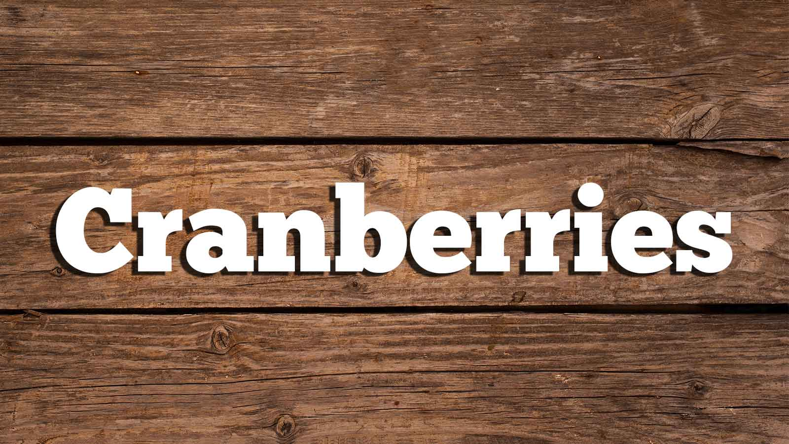 Image for Cranberries