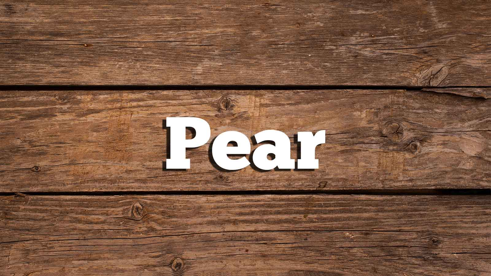 Image for Pear