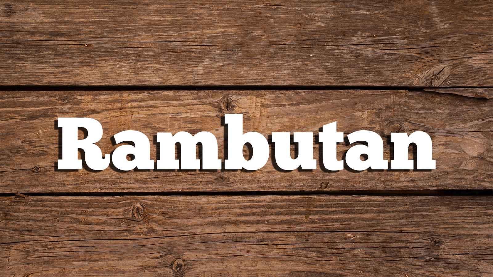 Image for Rambutan