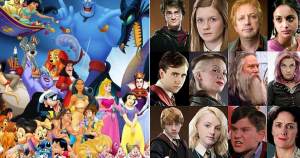 Everyone Is 50% Disney And 50% Harry Potter Character — Who Are You?